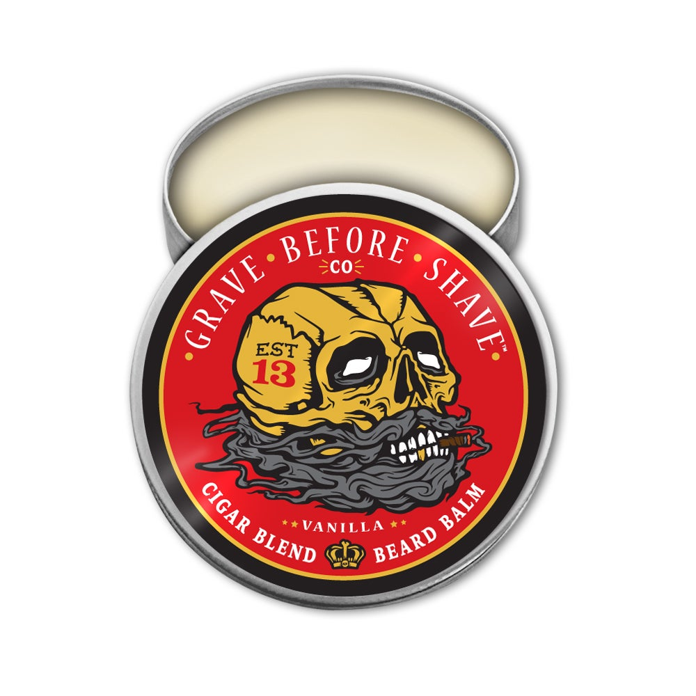 Image of GRAVE BEFORE SHAVE Cigar Blend Beard Balm