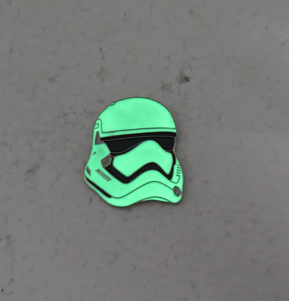 Image of First Order Trooper Lapel pin 2 versions