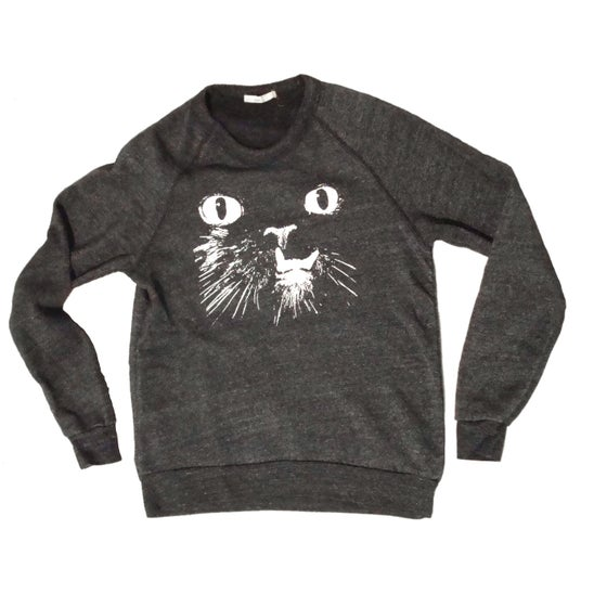Image of Eco-BLACK Princess Monster Truck UNISEX COZY SWEATSHIRT