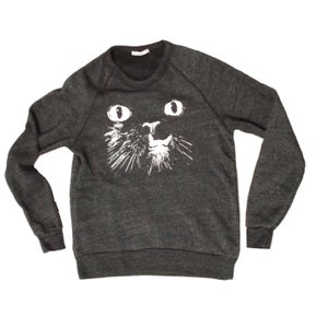 Image of *ECO-BLACK* Princess Monster Truck UNISEX COZY SWEATSHIRT