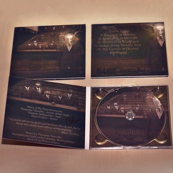 """Image of EP """"Theatre of the Absurd"""" 4-panel DIGIPAK"""