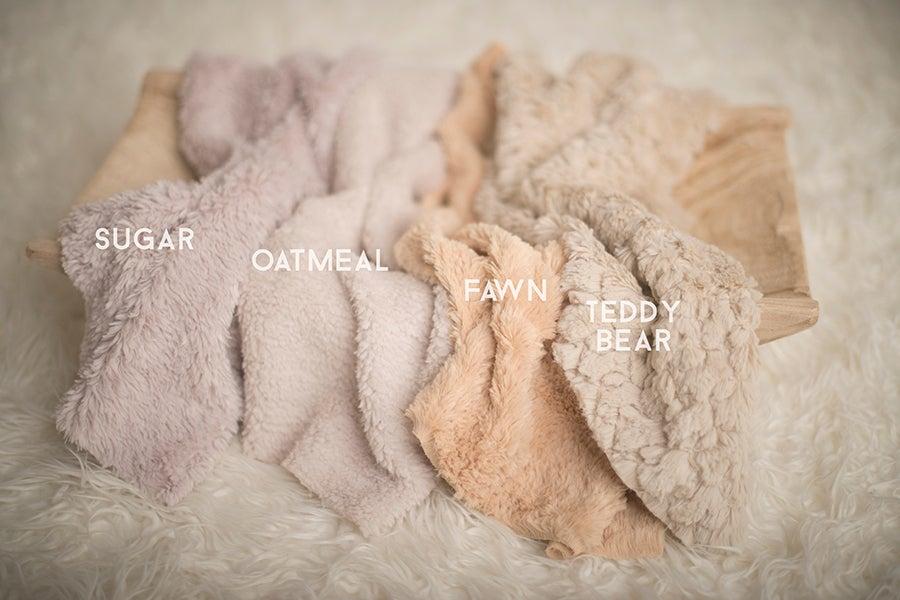 Image of  {Cozy} Faux Fur Basket Filler