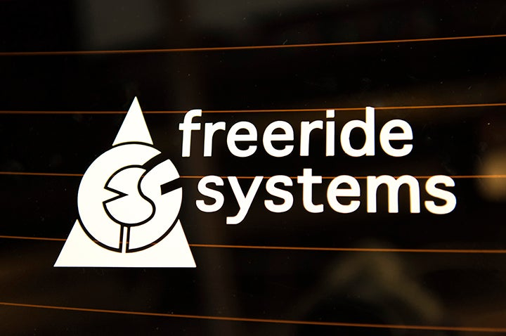 Image of Die Cut Freeride Systems Decal