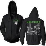 """Image of SHEER TERROR """"Hangman"""" Hooded Zipper Sweatjacket"""
