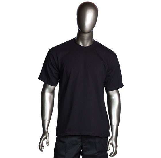Image of Black Mens Heavyweight Short Sleeve T-Shirt