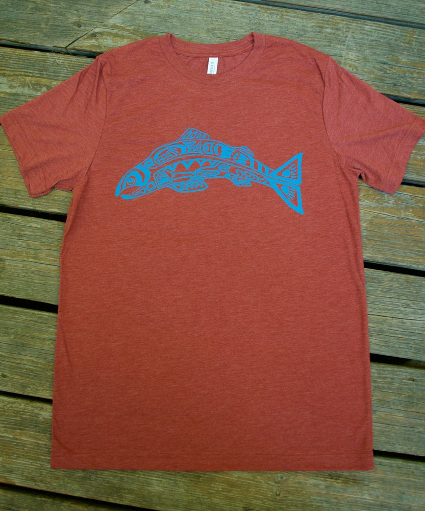 Image of Salmon Spirit- Men's Tee