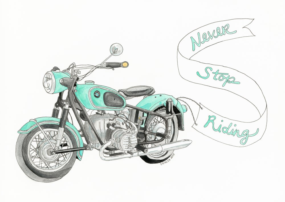 Image of Never Stop Riding