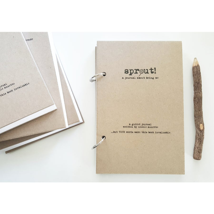 Image of SPROUT-The Unique Guided Journal That's All About YOU-TAS