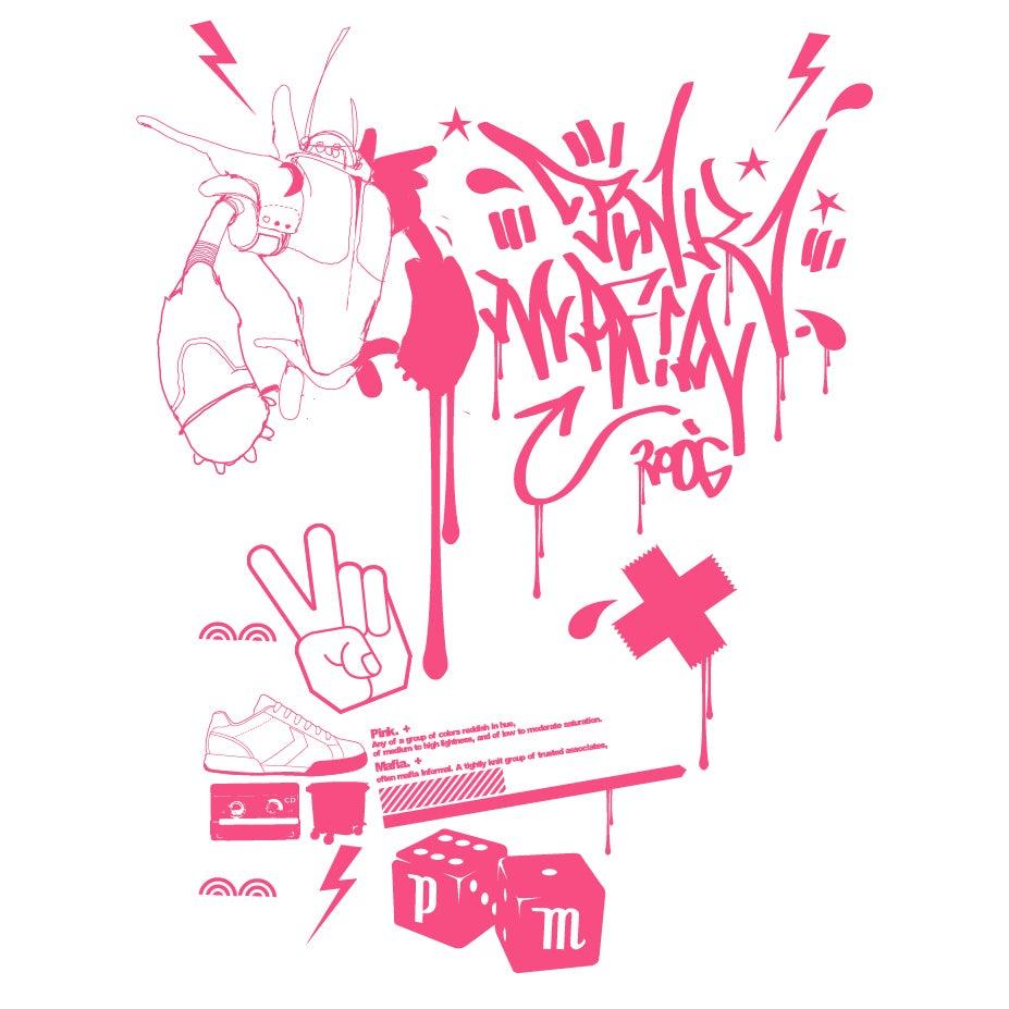 Image of Pink Mafia Black {f}
