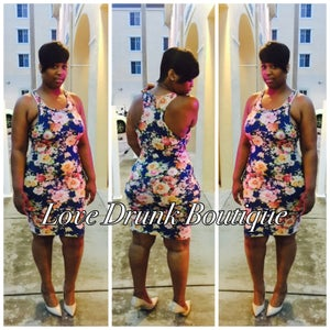 Image of Floral Tank Dress