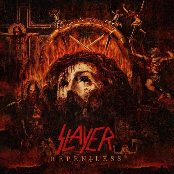 """Image of SLAYER """"Repentless"""" Impressão de Arte"""