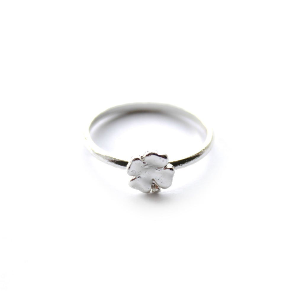 Image of LUCKY CLOVER RING