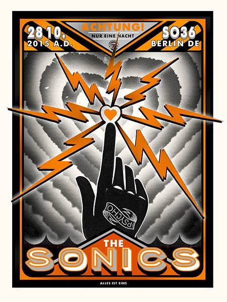 Image of The Sonics - 10/28/2015 - Berlin