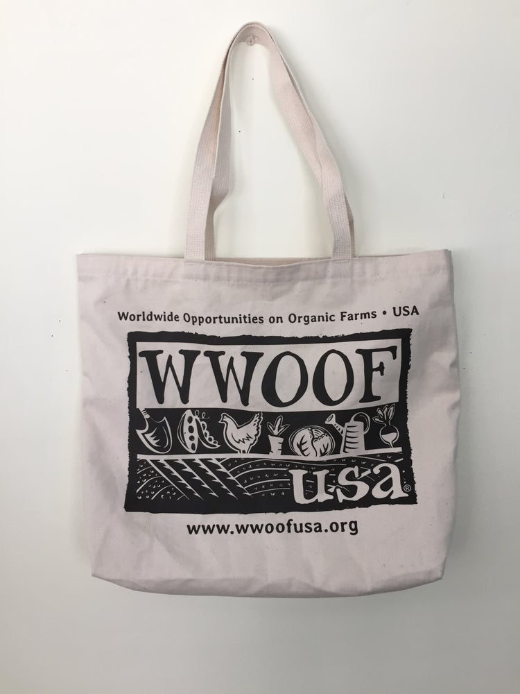Image of WWOOF-USA Tote Bag