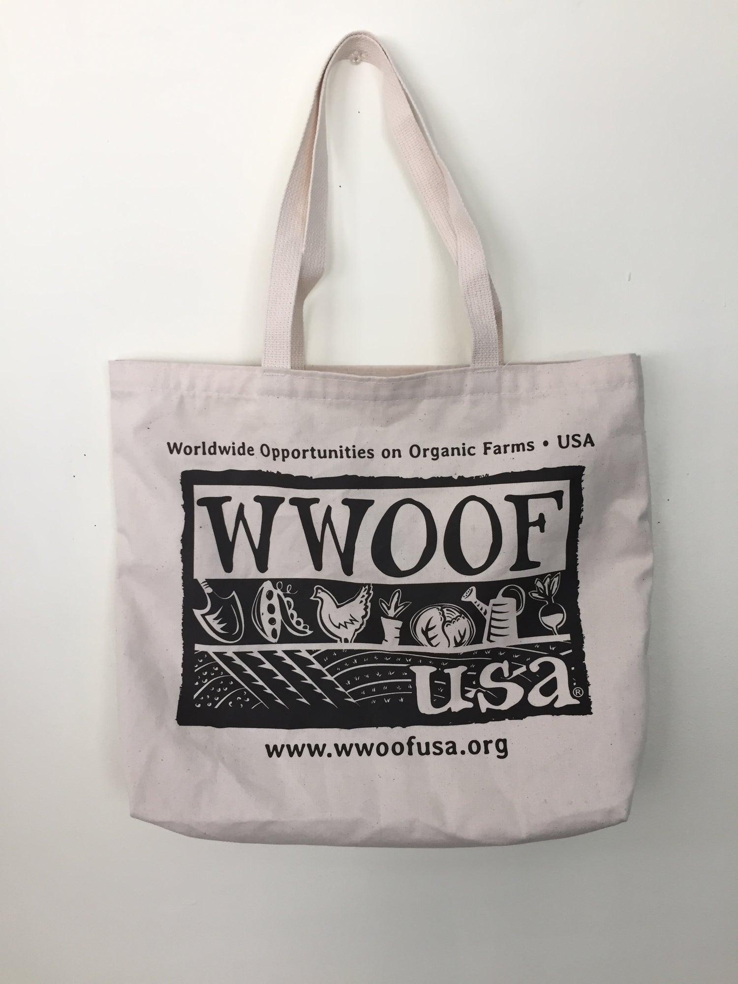 Image of WWOOF-USA Tote Bag