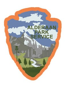 Image of Alderaan Park Service Series #8 Sticker