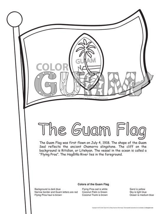 Image of The Guam Flag