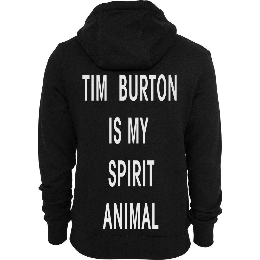 Image of TIM BURTON IS MY SPIRIT ANIMAL HOODIE