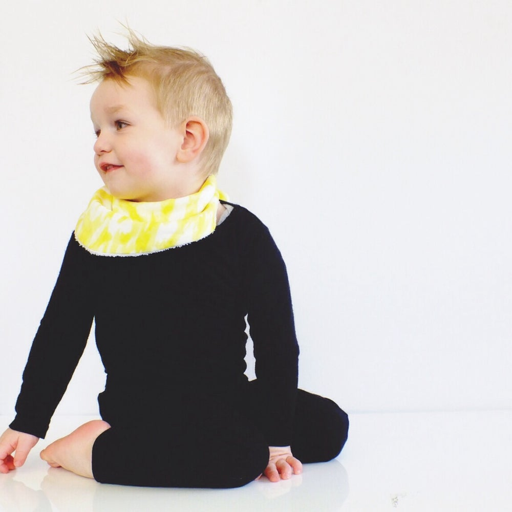 Image of DRIBBLE BIBS - MINTY COLOURS