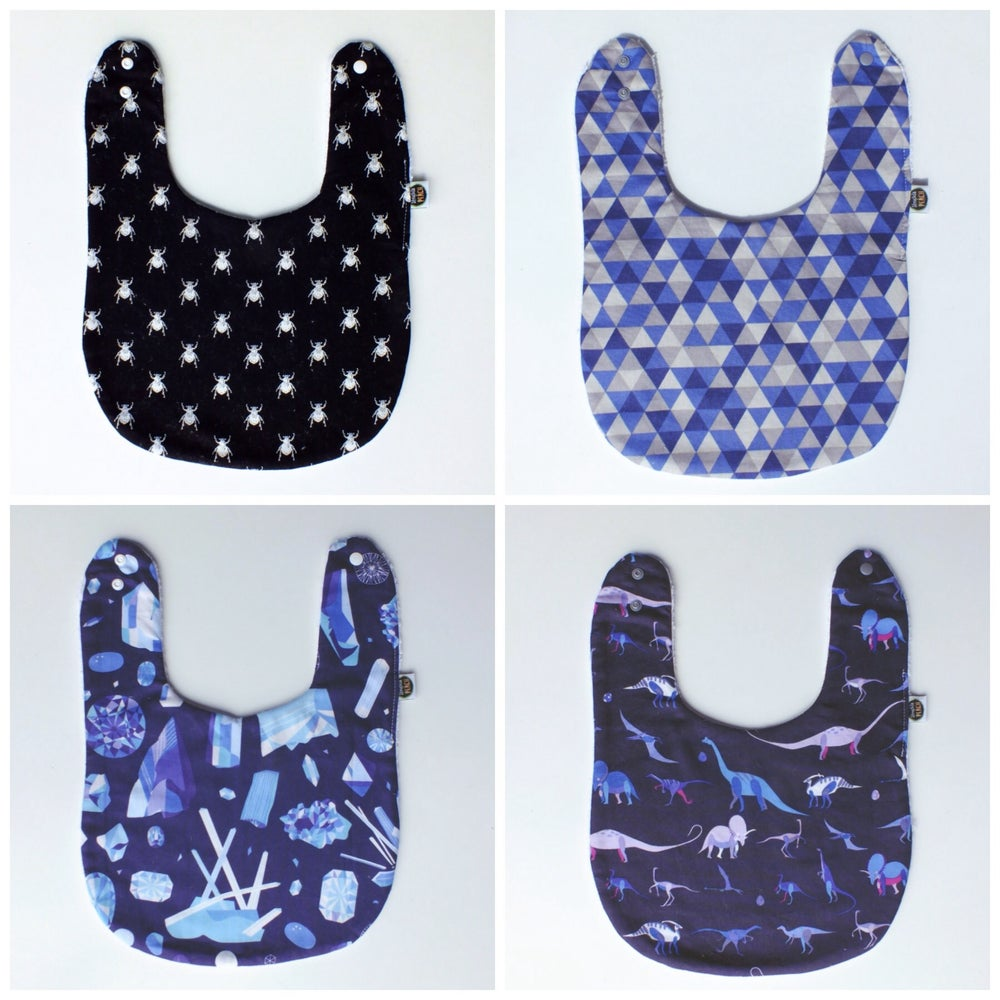 Image of FEEDER BIBS - BOY BUNCH