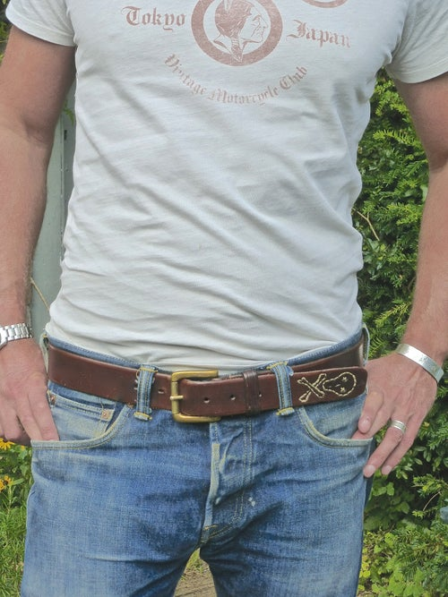 Image of 'Memento mori' Belt