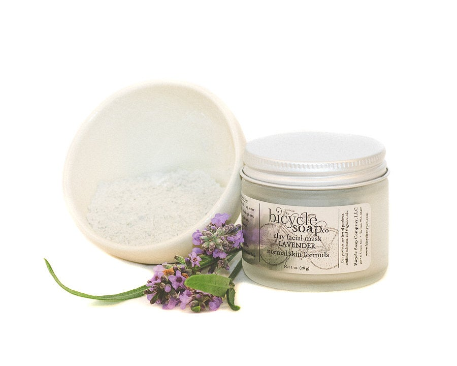 Image of Lavender Mineral Clay Facial Mask