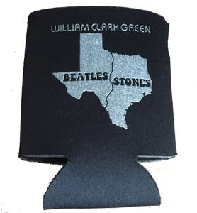 Image of Beatles / Stones Koozie - Black