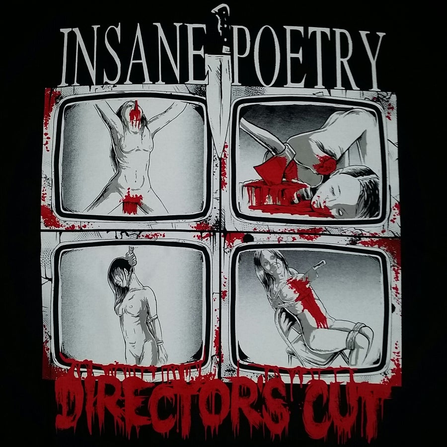 Image of INSANE POETRY DIRECTOR'S CUT SHIRT