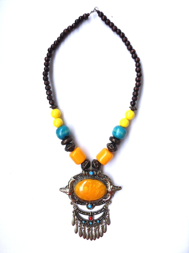Image of Necklace with stones