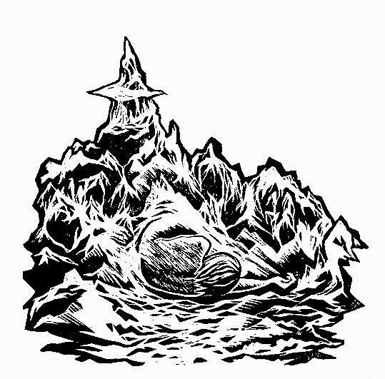 "Image of ""Oath"" - Original linocut Print"