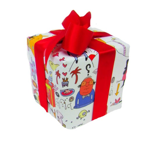 Image of Any time wrapping paper (5 sheets)