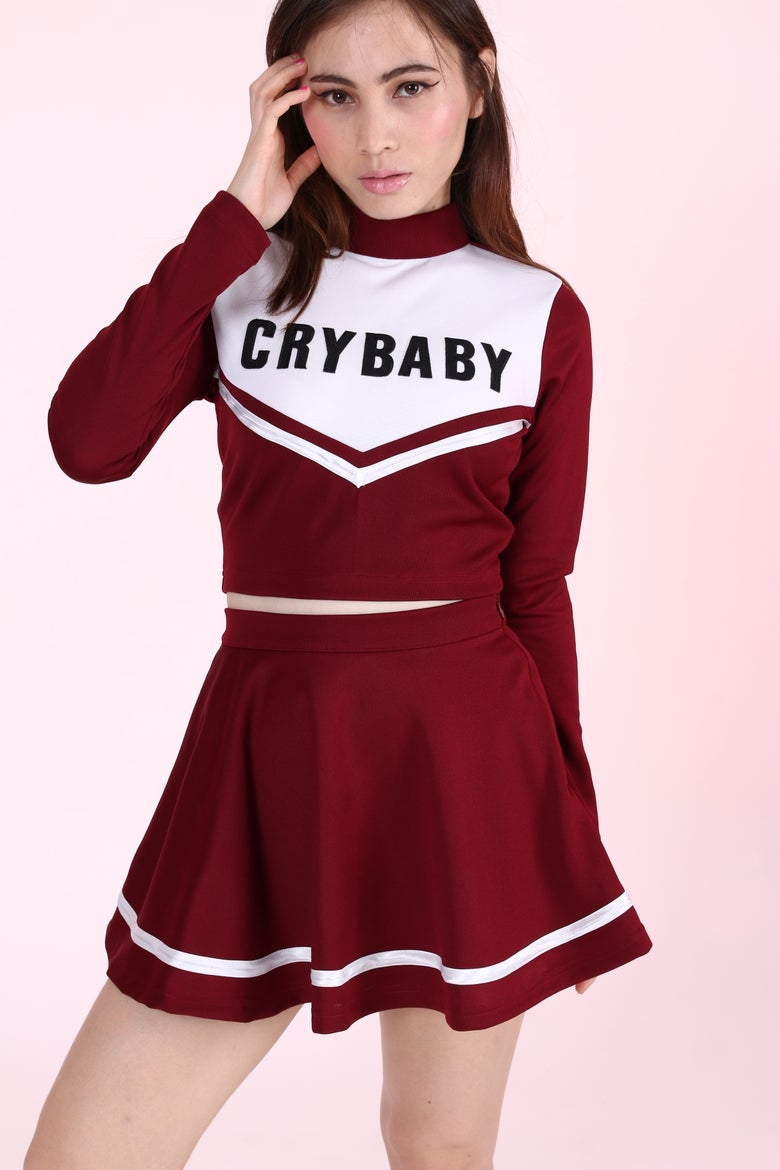 Image of 2 Weeks waiting - Team Crybaby Cheerleading Set.