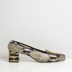 Image of KELLY GREY & YELLOW PYTHON