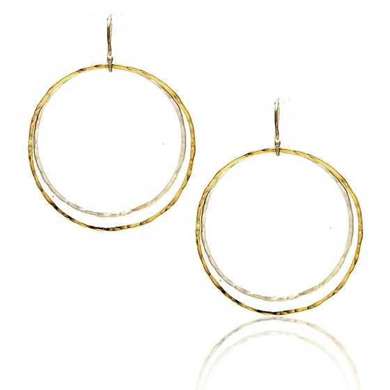 Image of Double Hoop Earrings