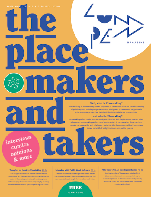Image of Lumpen #125 Placetakers & Placemakers