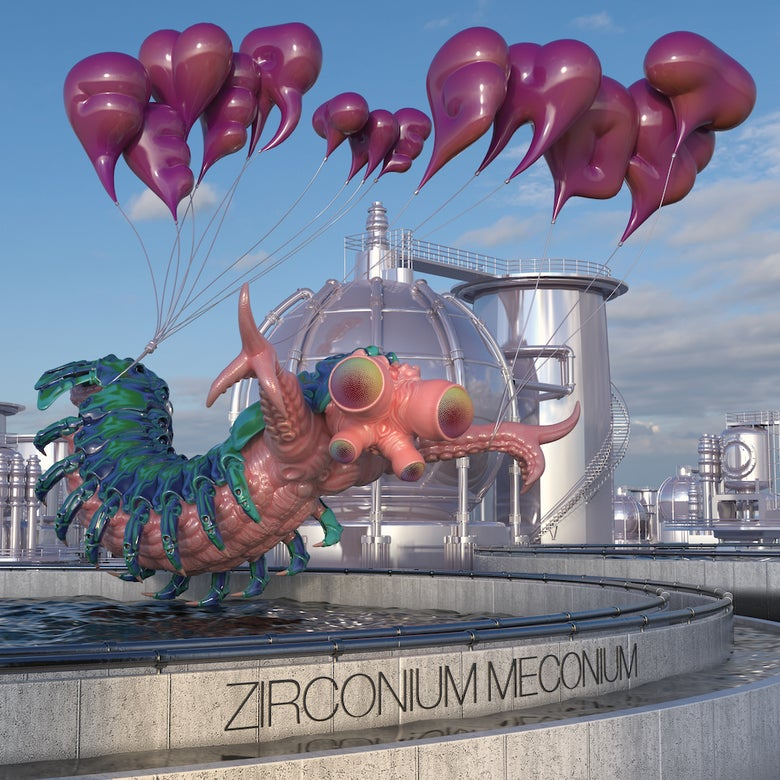 Image of Fever The Ghost 'Zirconium Meconium' compact disc - PRE-ORDER