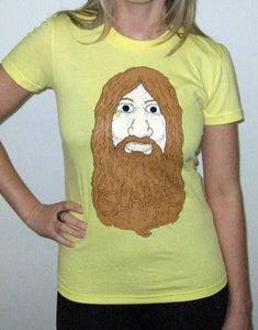 Image of Hip Hip Hippie - Girl's T (Lemon)
