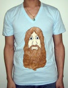 Image of Hip Hip Hippie - Unisex T (Light Blue)