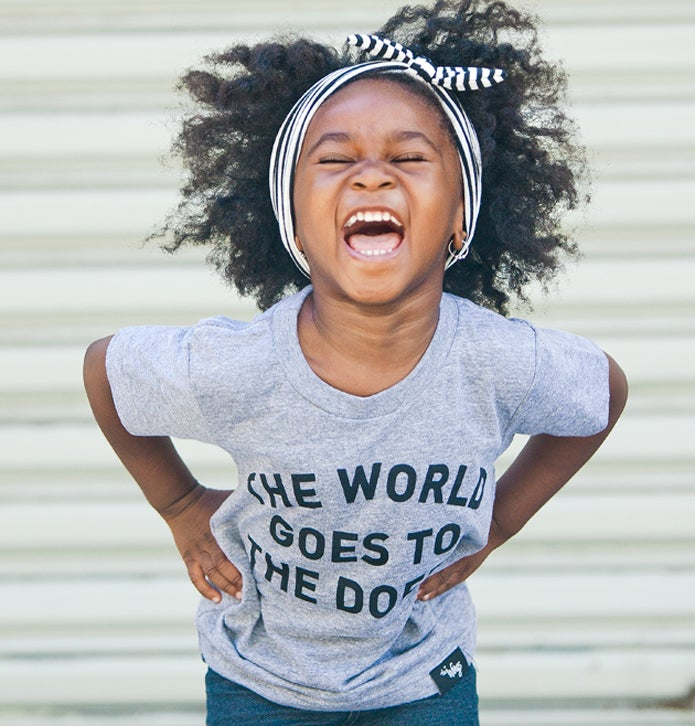 Image of The World Goes to the Doers Kids Tee