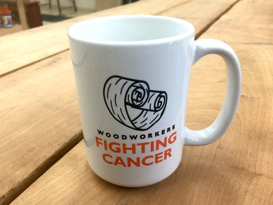 Image of Woodworkers Fighting Cancer Mug