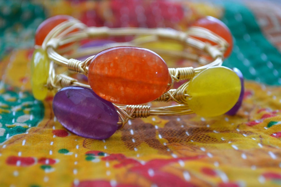 Image of Autumn Jade Bangle