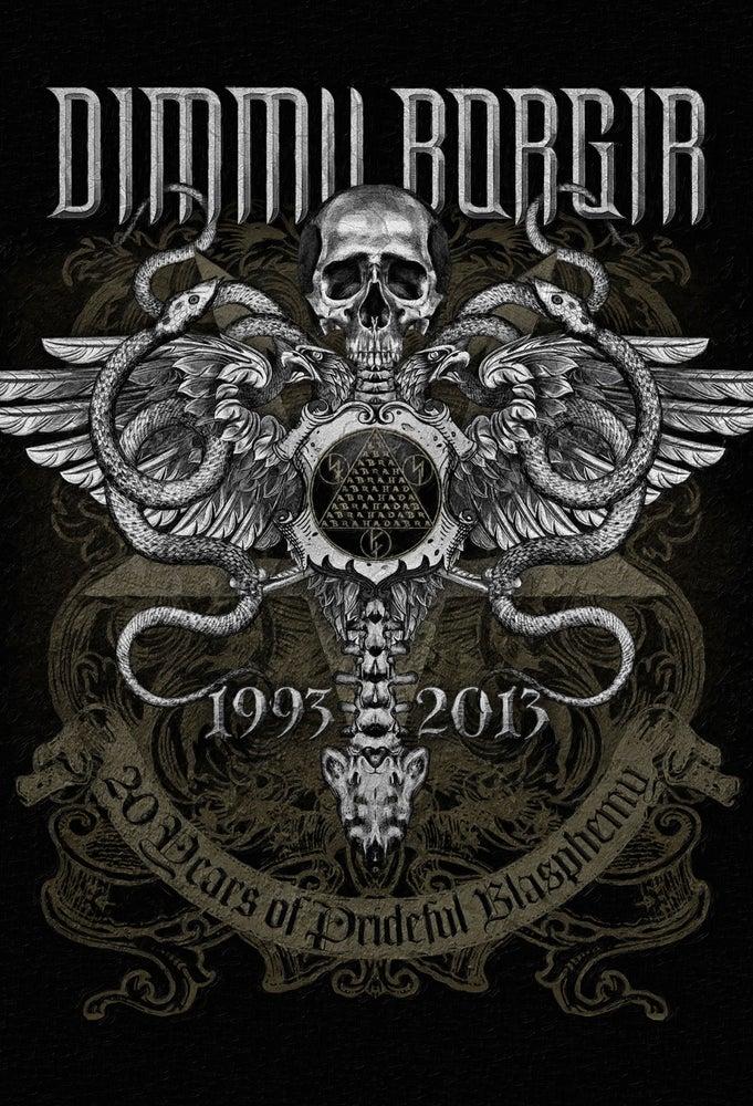 """Image of DIMMU BORGIR """"20 Year Anniversary"""" Impressão de Arte"""