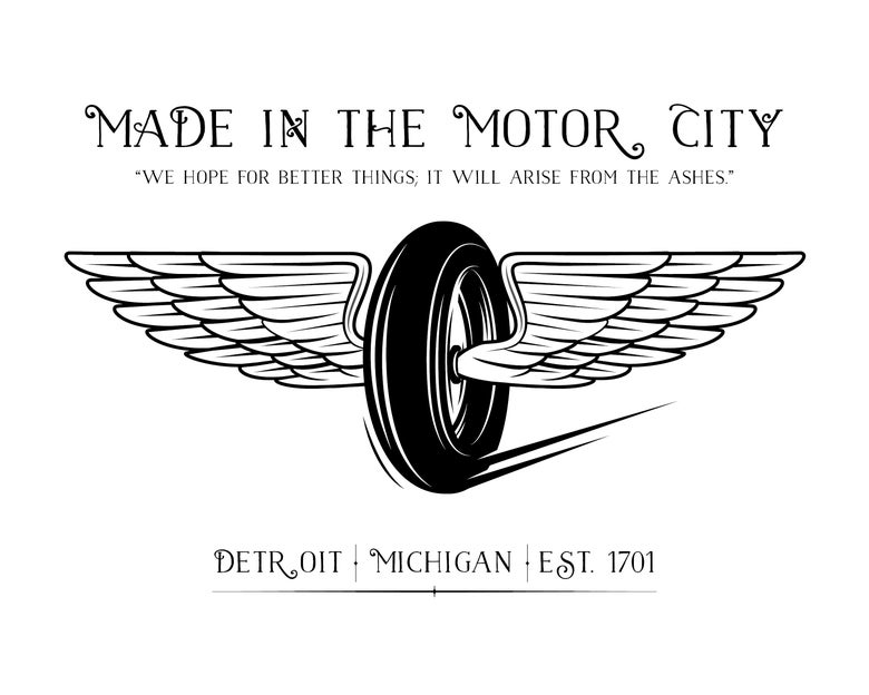 Image of Bundled - Motor City Print