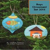 Image of Boys Ornament Set 2015  ANK 321