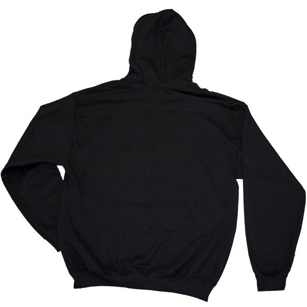 Image of Black Hoodie with White Seeburg Logo