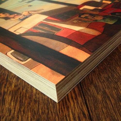 """Image of Print on Wood - """"Everyone knew Dottie was back on the market..."""""""