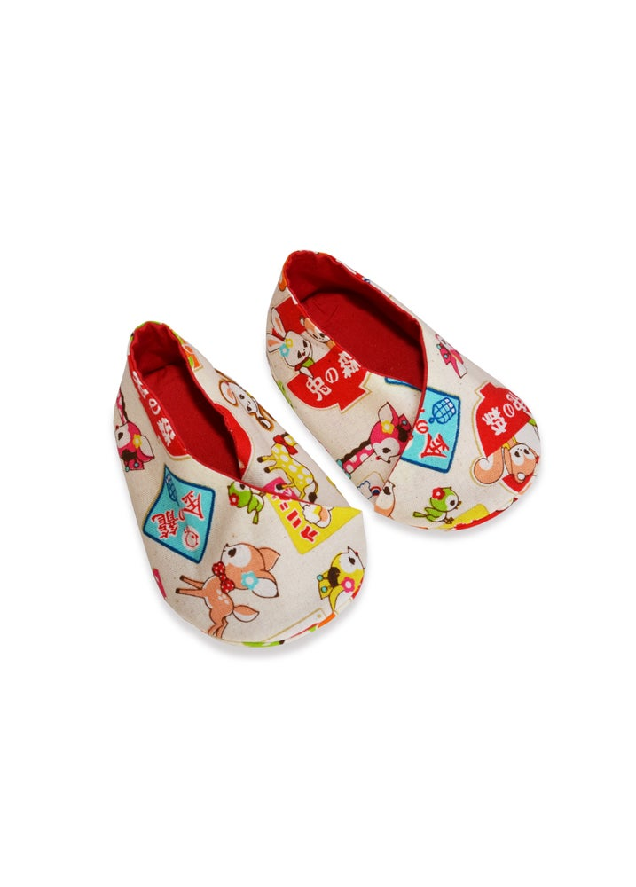 Image of Zapatos estampado japonés