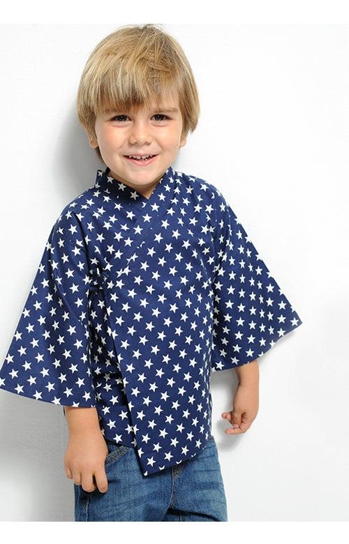 Image of Camisa azul estrellas