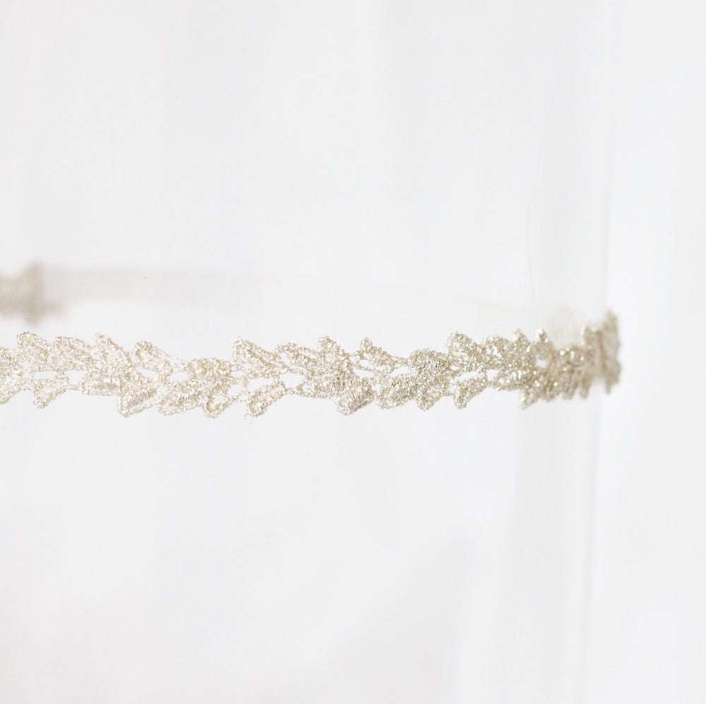 Image of Silver Isla Lace Adult