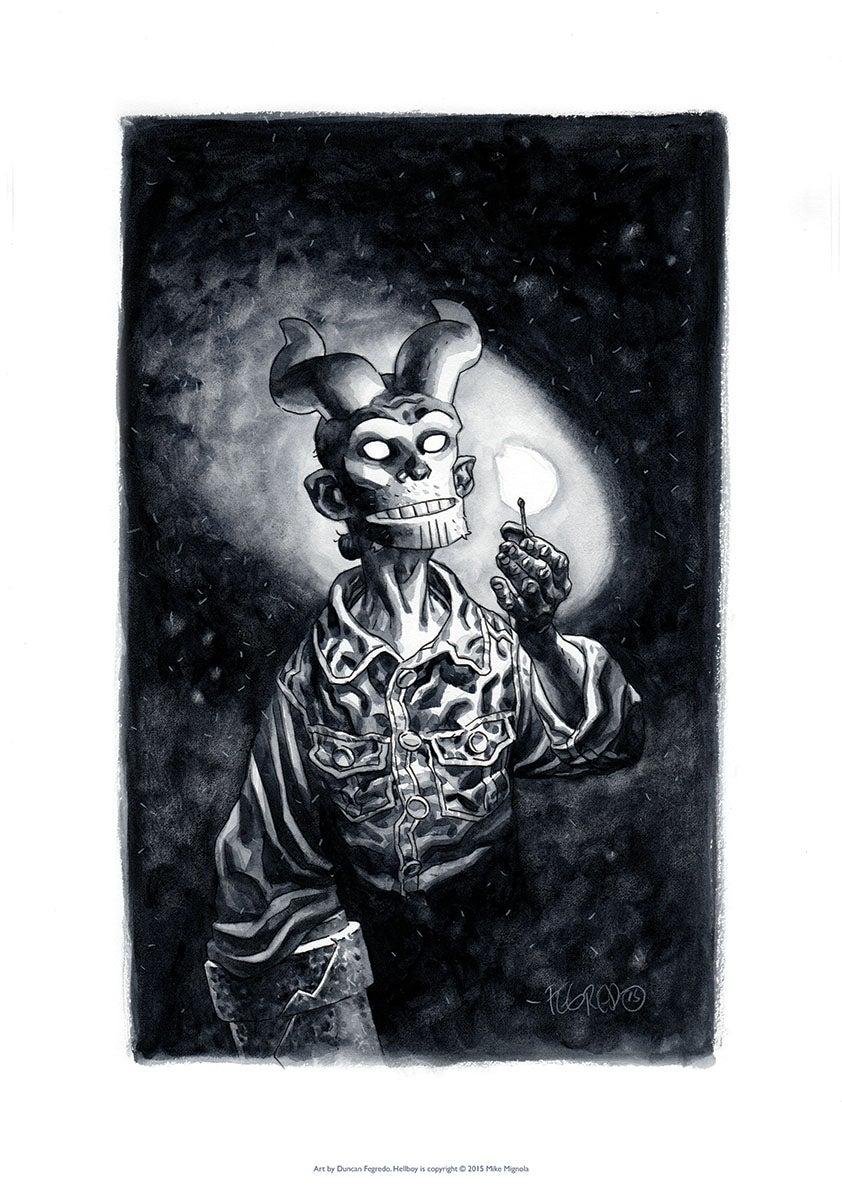 Duncan Fegredo — Hellboy: Midnight